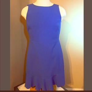 Women's scallop edge dress size 10